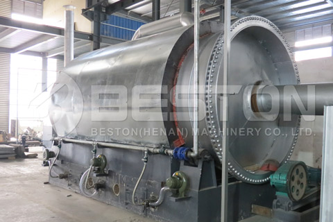 Oil Sludge Pyrolysis Plant for Sale