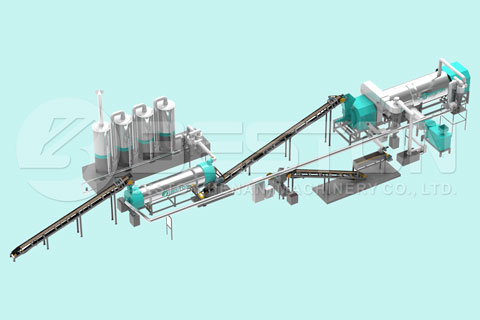Rice Hull Carbonizer for Sale