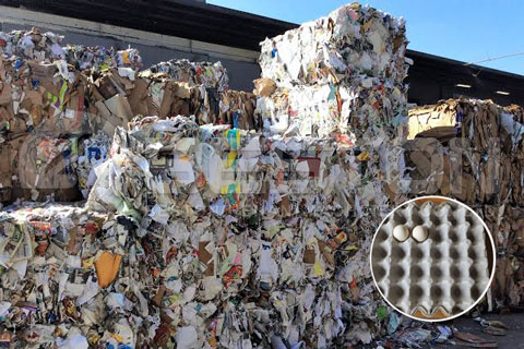 Use of Waste Paper Separated by Waste Recycling Machine