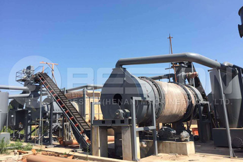 Bamboo Charcoal Making Machine Manufacturer
