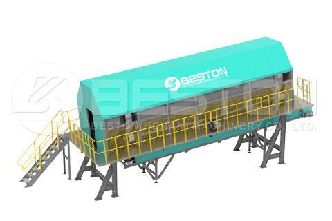 Beston Rotary Screening Machine