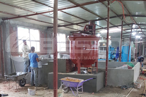 Paper Tray Forming Machine