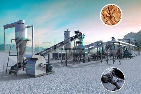 Sawdust Charcoal Making Machine