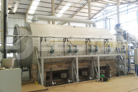 Semi-continuous Pyrolysis Equipment