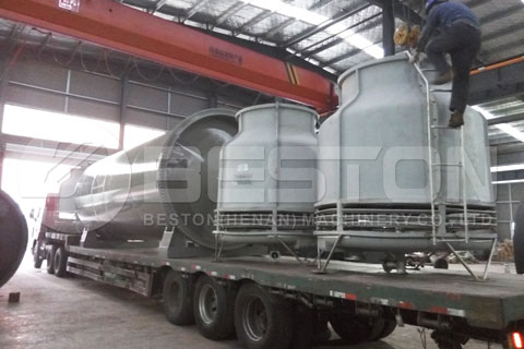 Semi-continuous Waste Pyrolysis Machine