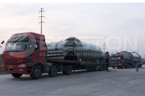 Semi-continuous Waste Pyrolysis Plant