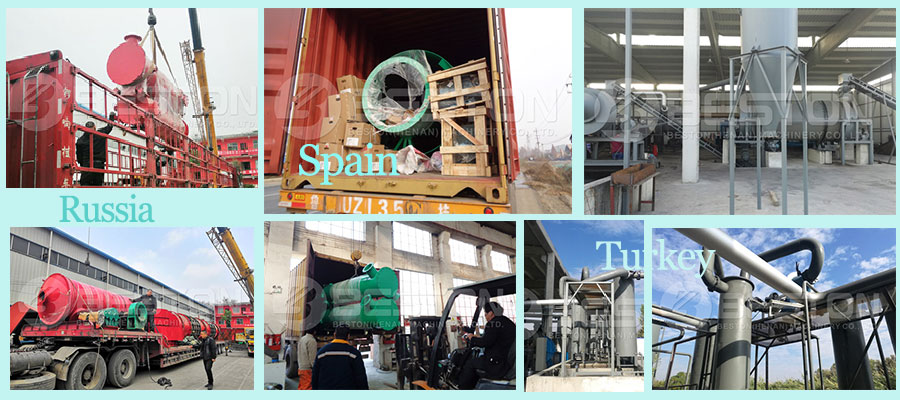 Beston Charcoal Manufacturing Machine Projects