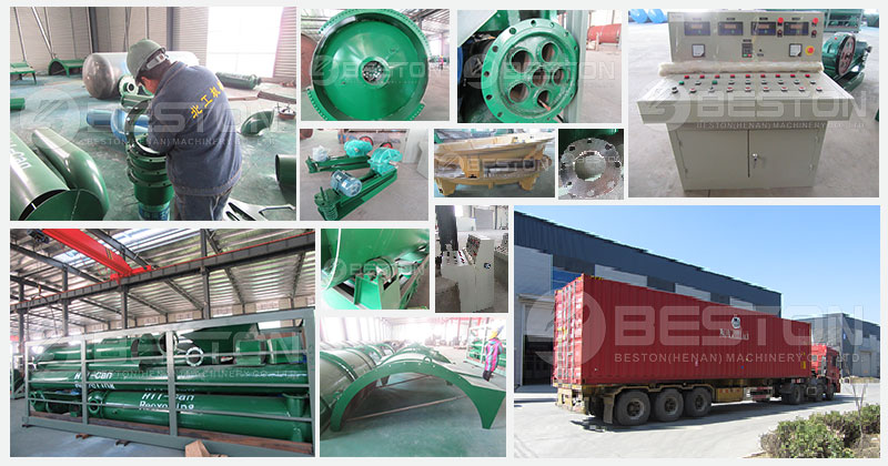 Beston Small Scale Pyrolysis Equipment Shipped to Turkey
