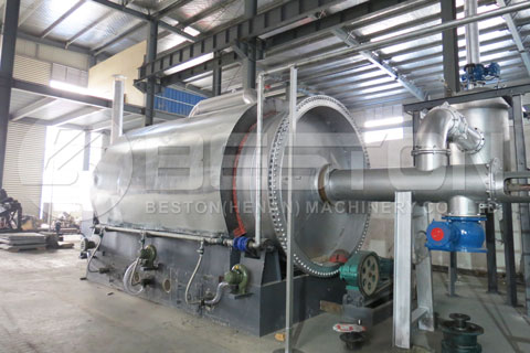 Great Waste Pyrolysis Machine Design