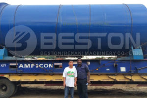 Nigerian Customer and Beston Engineer