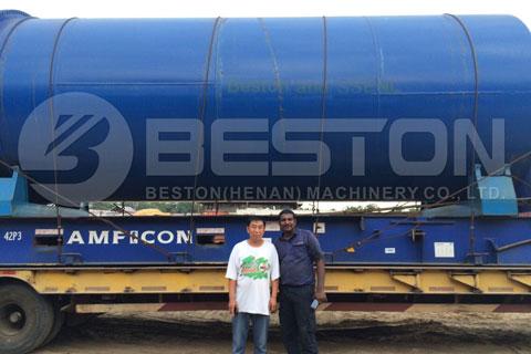 Nigerian Customer and Beston Engineer