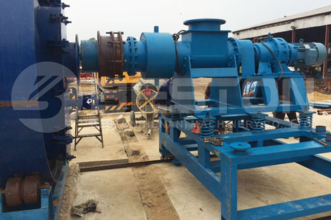 Parts of Oil Sludge Pyrolysis Plant