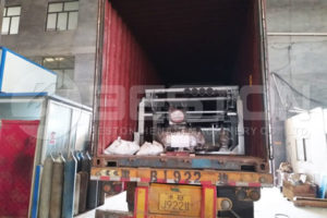 Small Egg Tray Machine Shipped to the Philippines