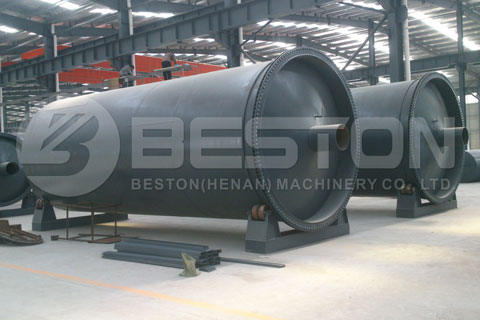 Small Pyrolysis Plant for Sale with Good Materials