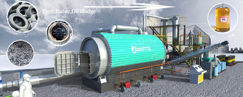 Cost-efficient Beston Small Scale Pyrolysis Equipment