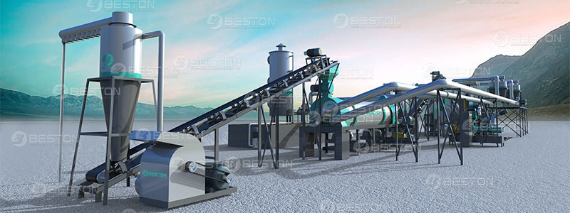 Coconut Shell Charcoal Machine for Sale