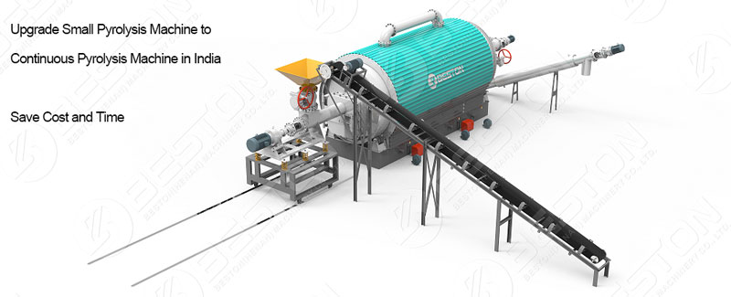 Continuous Tyre Pyrolysis Plant India