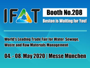 Join IFAT with Beston in 2020