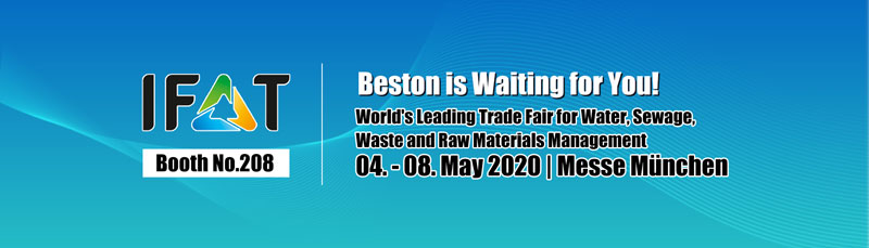 Join IFAT with Beston on May, 2020
