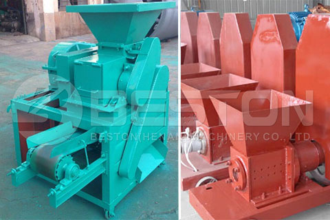 Bamboo Charcoal Making Machine for Sale with Further Processing Machine
