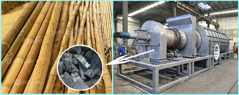 Beston Bamboo Charcoal Making Machine for Sale – Hot Product