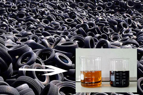Products Produced by Tyre Recycling Machine