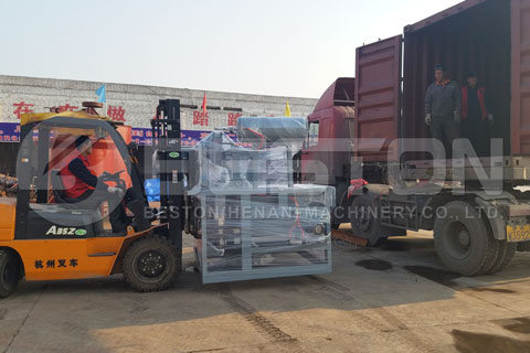 Egg Tray Machine Shipped to Tanzania