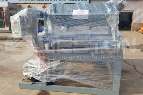 Egg Tray Making Machine Shipped to Tanzania