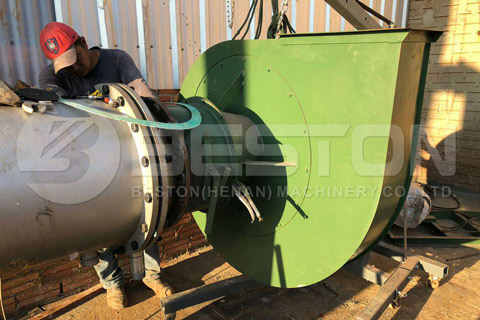 Installation of Tire Pyrolysis Project in Paraguay