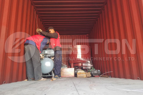 Preparation of Shipment
