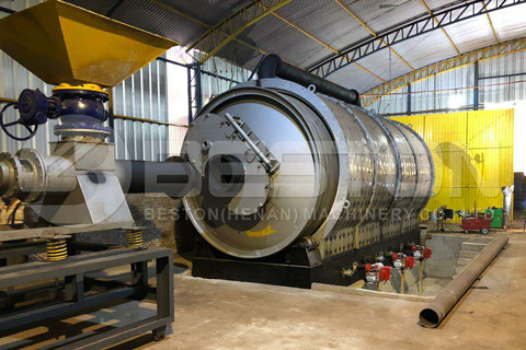 Pyrolysis Project in Paraguay