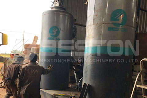 Pyrolysis Project was Finished in Paraguay
