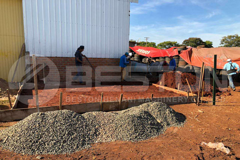 Tyre Pyrolysis Project Installed in Paraguay
