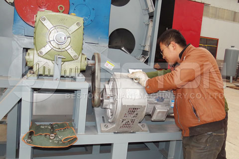 Automatic Paper Egg Tray Making Machine Shipped to Egypt