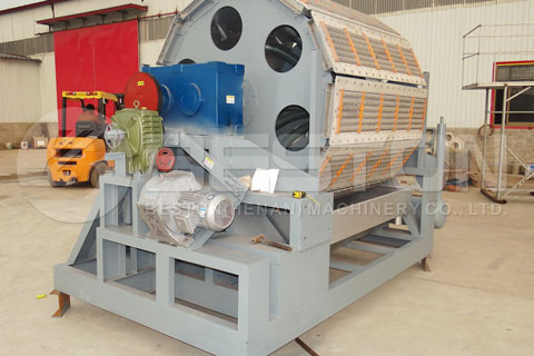 FFully Automatic Egg Tray Machine Shipped to Egypt