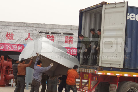 Fully Automatic Shipment of Egg Tray Making Machine Shipped to Egypt
