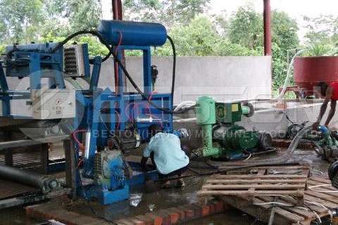 Paper Egg Tray Making Machine in Uganda