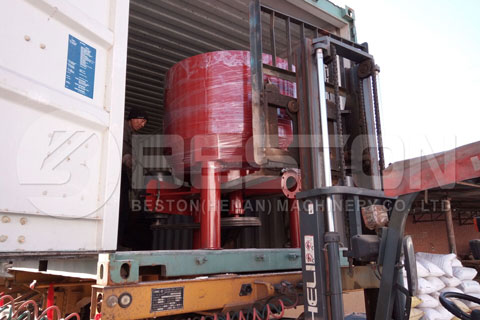 Shipment of Pulp Making System Shiped to Algeria