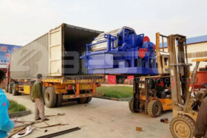 BTF-4-8 Egg Tray Moulded Machine Delivered to the Philippines