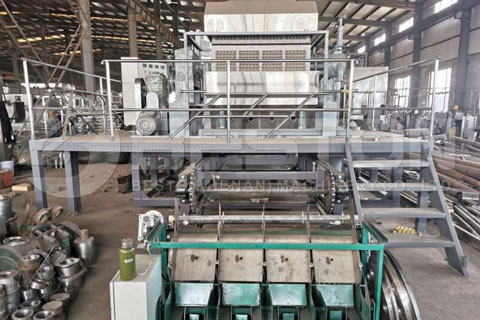 Egg Tray Manufacturing Machine Shipped to Russia