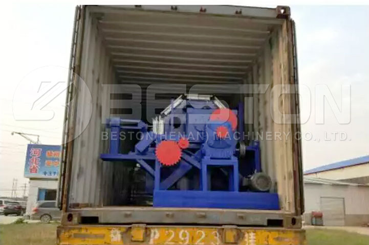 Shipment of BTF-4-8 Egg Tray Moulded Machine to the Philippines