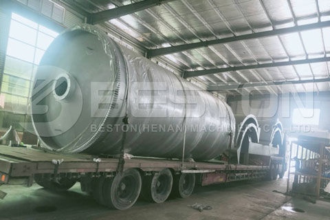 BLJ-10 Small Pyrolysis Plant Delivered to India
