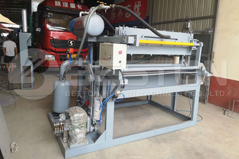 BTF-1-4 Small Scale Egg Tray Machine