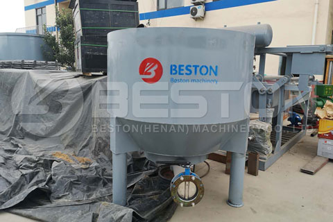 Shipment of Beston Pulp Making System