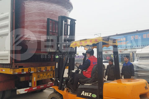 Shipment of Pulp Molding Machine