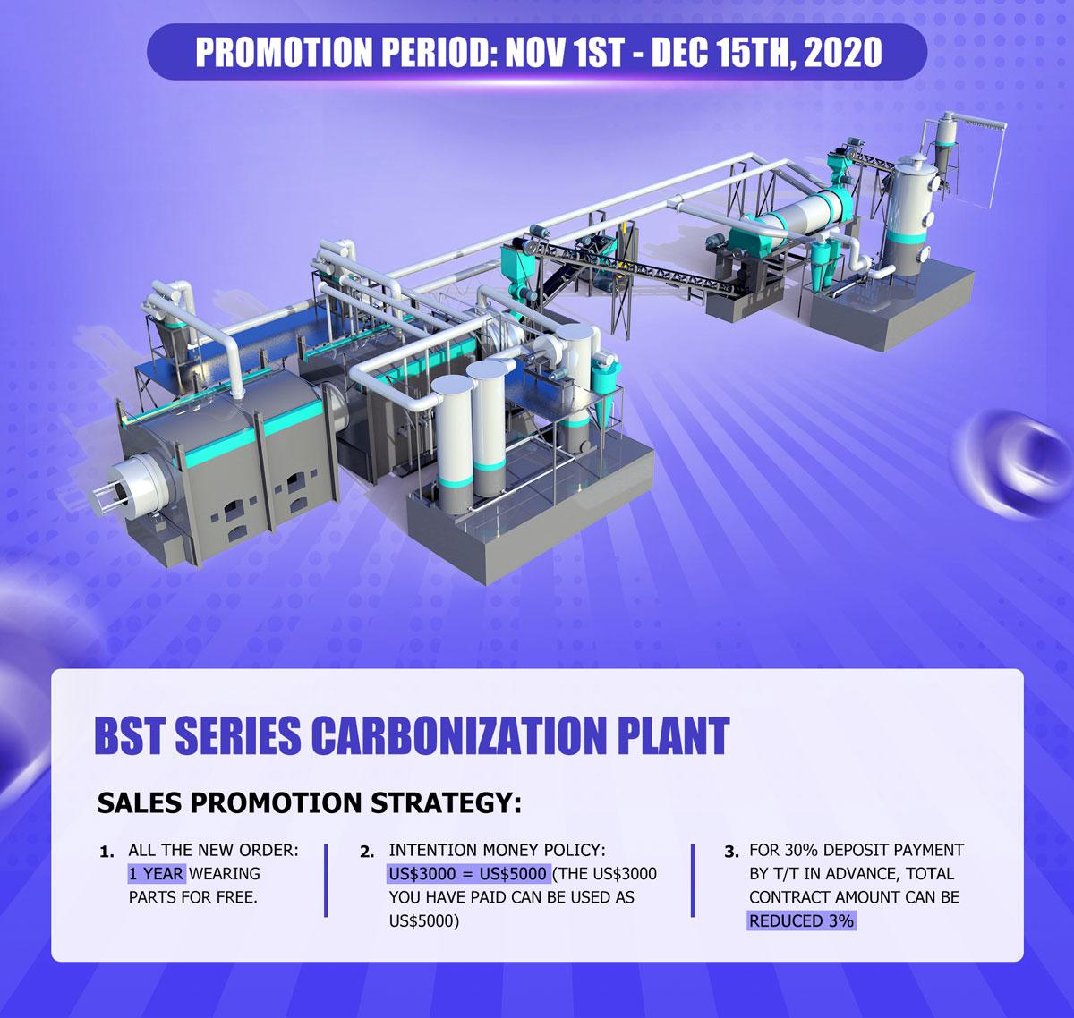 Beston Charcoal Making Machine Promotion