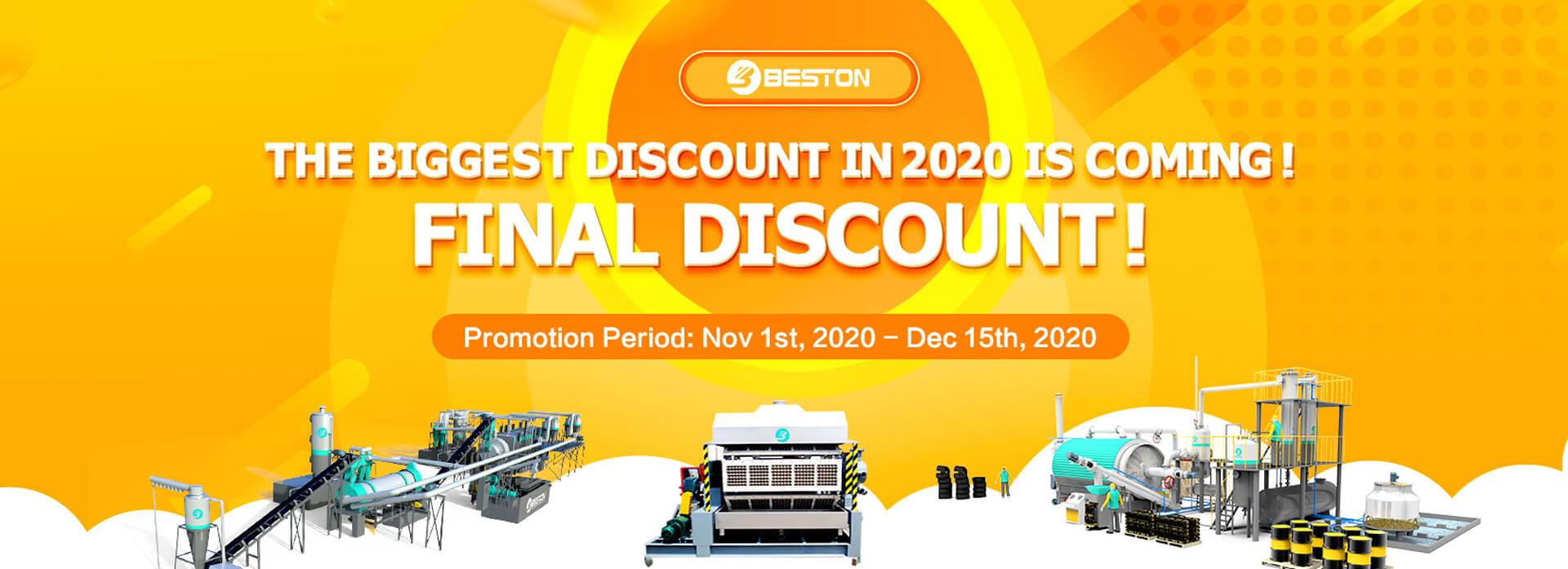 Biggest Discount of Beston in 2020