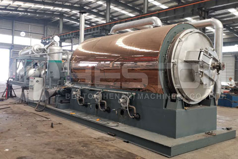 Portable Skid Mounted Pyrolysis Plant for Sale