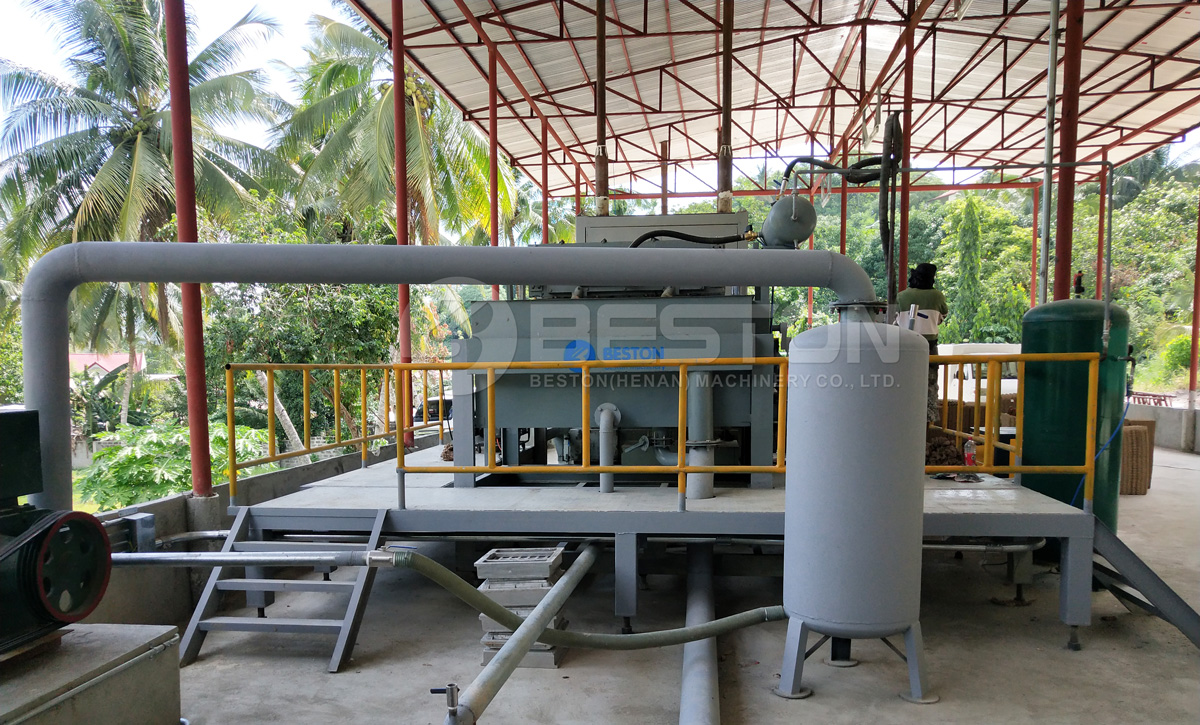 BTF-1-4 Beston Egg Tray Plant Installed in the Philippines