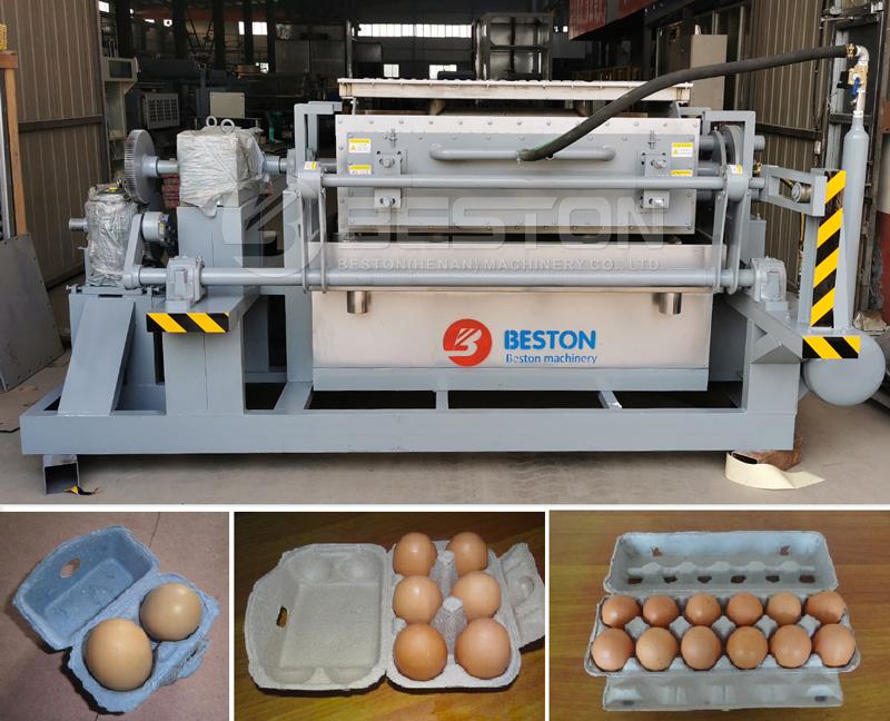 Beston Egg Carton Machine for Sale